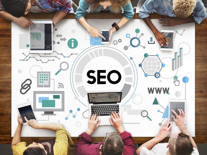 SEO Agency working on website